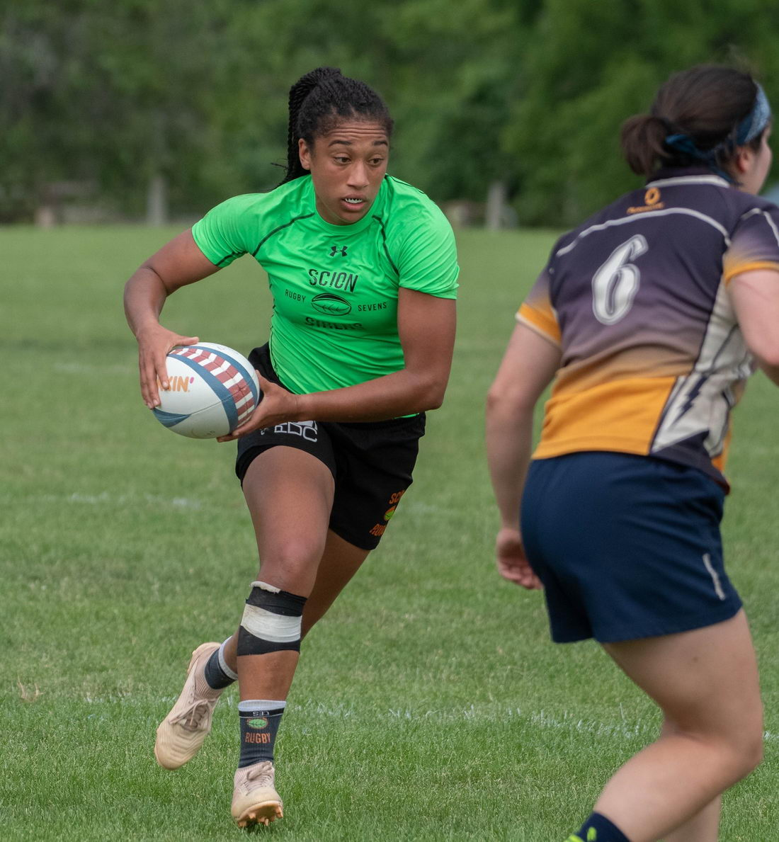Winner of the JetBlue Vacations package to Barbados, Jade McGrath, playing for the USA Scion Sirens.