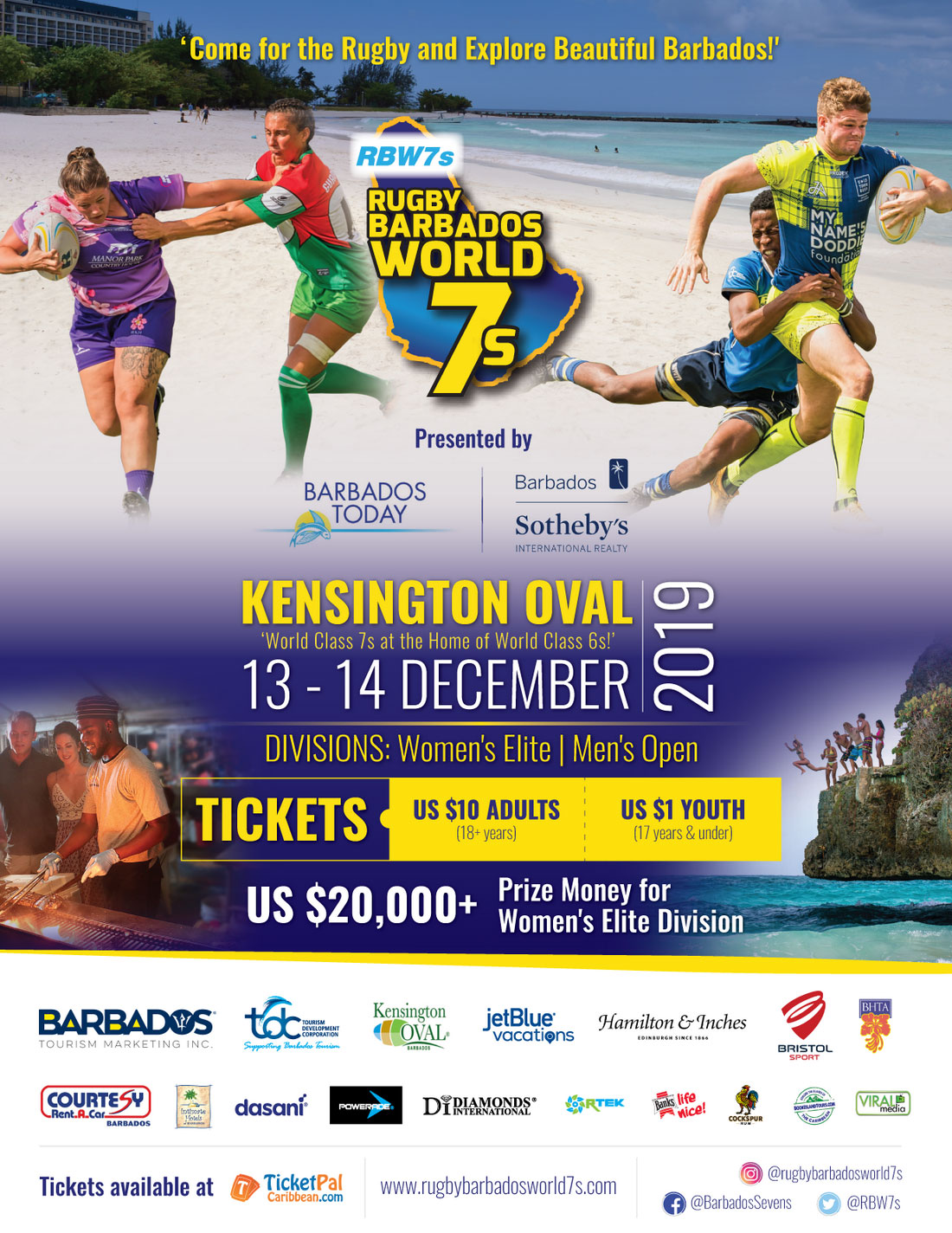 Barbados Rugby tourney announces exciting new partnerships